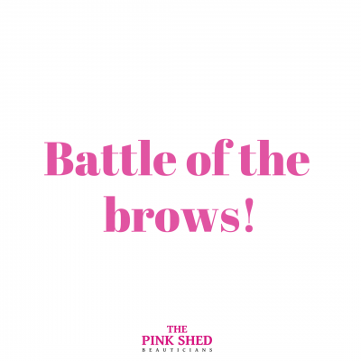 Battle of the brows